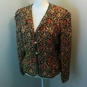 ❄ Maggy London : Silk Baroque Filigree Jacket