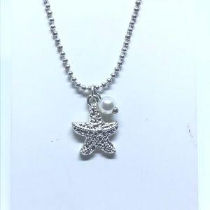 Precious starfish of the sea fashion pendant