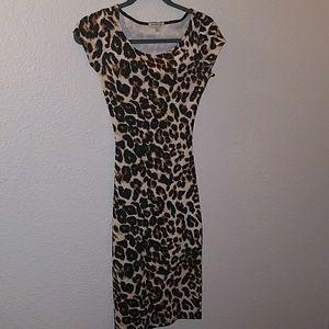 SEXXXY SZ XS cheetah print dress
