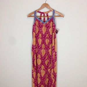 Xhilaration maxi dress size small Tribal Print