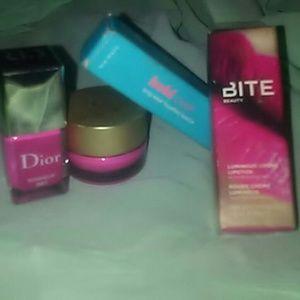BNIB Dior, Stila, Bite, & Blisws 4pc Bundle