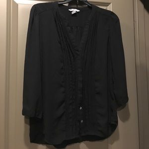 Black 3/4 Blouse