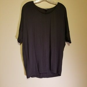 LIKE NEW Express gray tee