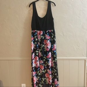 Size 1 Torrid Floral Dress