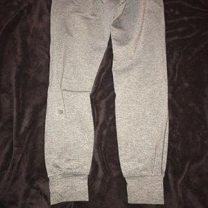 Lululemon Joggers- Heathered Grey Size 4