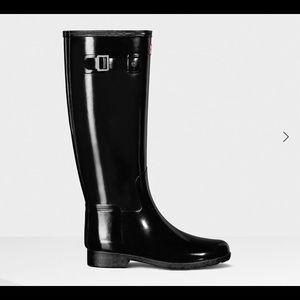 Hunter Women's Refined Gloss Rain Boots