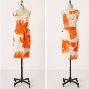 Moulinette Soeurs Orange Blossom shift dress