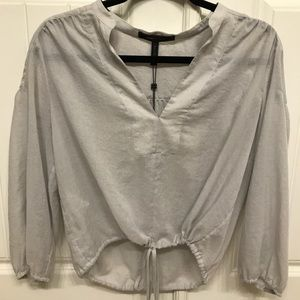 Women's Grey BCBG Blouse