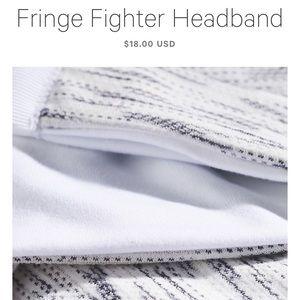 Fringe Fighter Lululemon Headband
