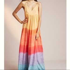 Anthropologie Setting Sun Maxi Small