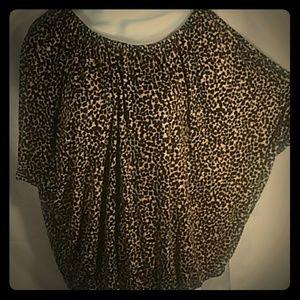 Ann Taylor Loft soft Bohemian shirt