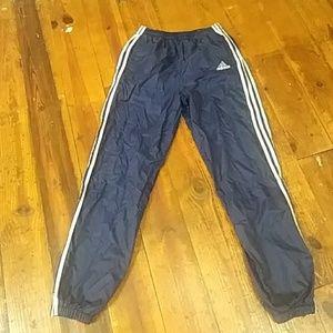 Women's Adidas windbreaker pants size XL
