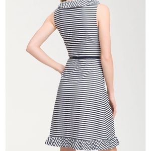 NWT Kate Spade HENLEY ruffle striped dress Sz.8
