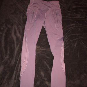 Lululemon leggings- Purple Size 2