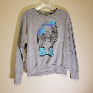 Brat & Suzie crewneck graphic sweatshirt
