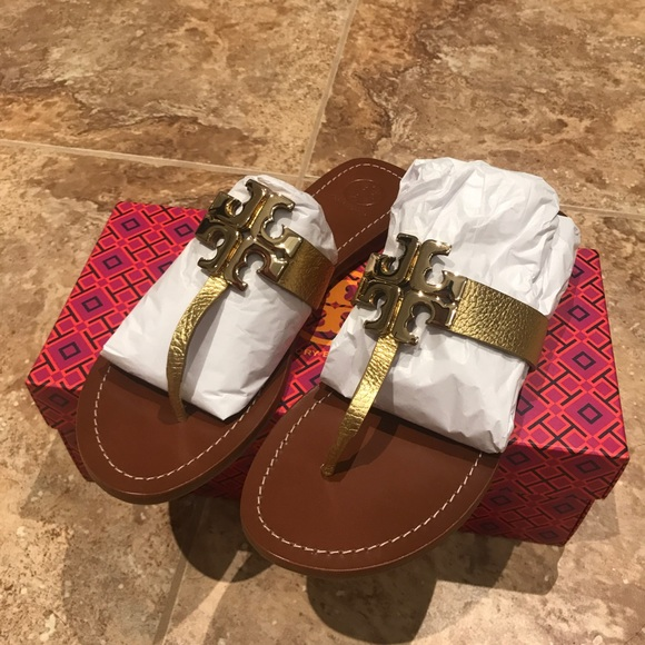 c40612bc3b833b Tory burch Moore 2 Flat Leather Thong Sandal