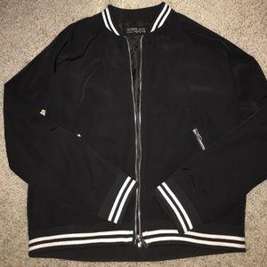 Vintage style bomber jacket