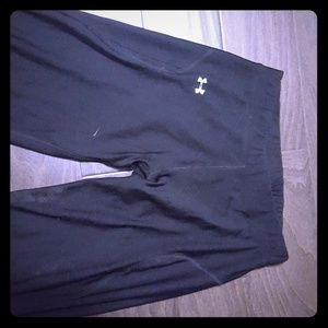 Under Armour black work-out pants