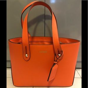 NWOT Orange Colored Steve Madden Shoulder Tote