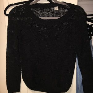 HM Black Sweater