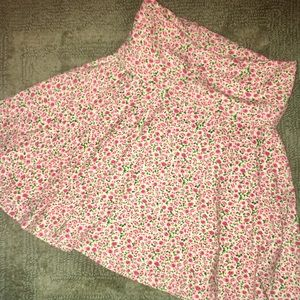 American Apparel Sweetheart Floral mini skirt!!!