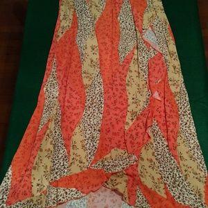 Dresses & Skirts - Long Flowery Skirt