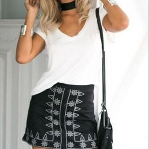 Dresses & Skirts - Faux Suede Mini Skirt