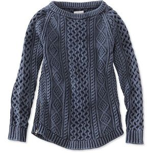 Ann Taylor Loft M Charcoal Gray Sweater