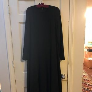 Stunning Vintage J. Crew Maxi Dress 100% Wool.