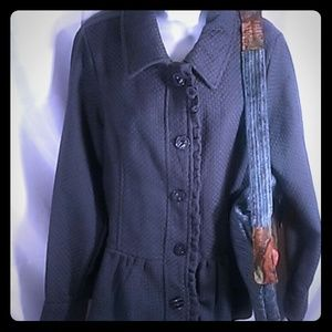 Decree extra large Blazer charcoal gray