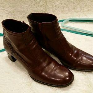 Franco Sarto Oxblood Red Boots sz 8M