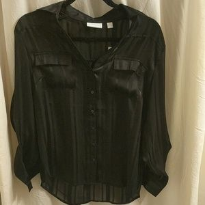 New York & Company black blouse