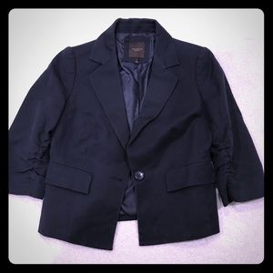 The limited collection blue Cotton blazer