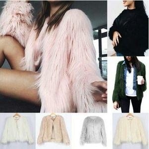 Sweaters - Women's Beauty Retro Winter Fur Coat