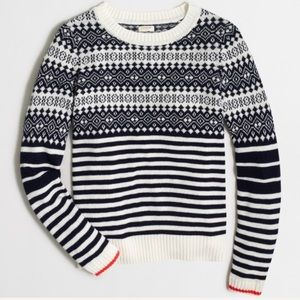 j.crew factory | fair isle sweater.