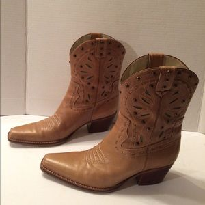 Merger and Madison Women's Leather Western Boots
