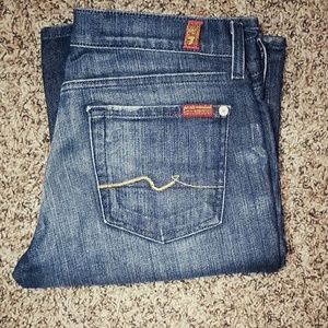 7 for all mankind boot cut stretch in Nakita SZ 29