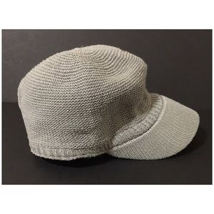 Women's Gray Military Style Hat