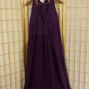 Kristin Nicole maxi dress sz XL
