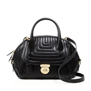 Ferragamo Quilted Fiamma. NEW WITH TAGS!
