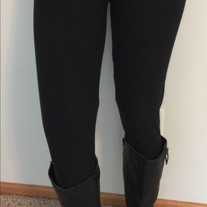 Pants - NEW SOLID BLACK LEGGINGS SOFT AS LLR TC