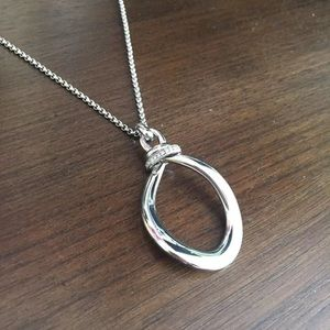 Silver Fossil necklace