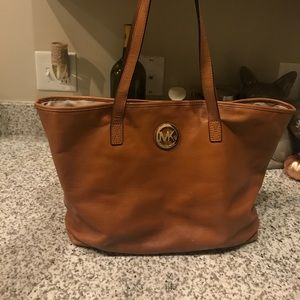 Michael Kors Tan Leather Tote