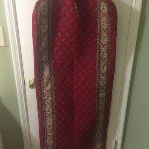 Vera Bradley   Red  carment Travel  Suit Case Bag