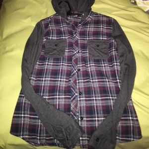 Empyre flannel hoodie