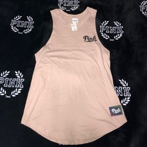 Pink Tank top bling