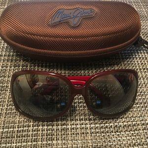 EUC Maui Jim oversized sunglasses