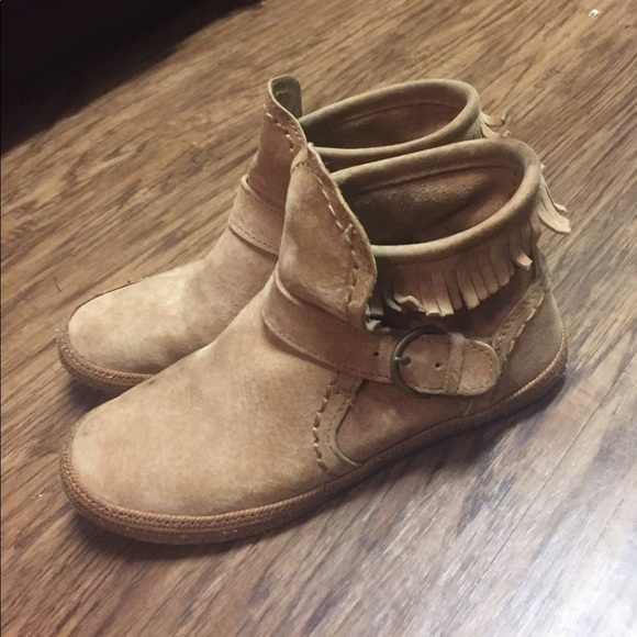 UGG Moccasin Ankle Boots