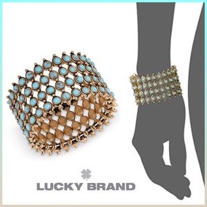 NEW! BEAD WIDE CUFF BRACELET
