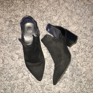 Zara pointed toe ankle boots